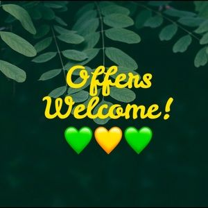 Offers Welcome! 💚